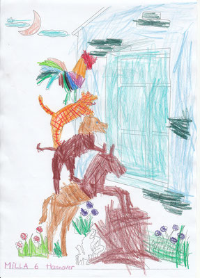 Milla 6 years old from Hannover