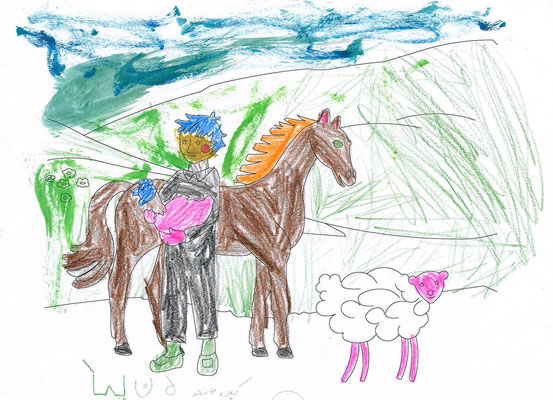 Kian 6 years old from Laussane