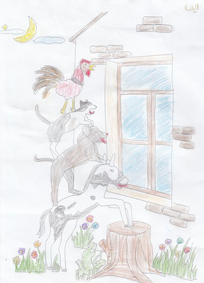 Elina 8 years old from Kalaleh (Gonbad)