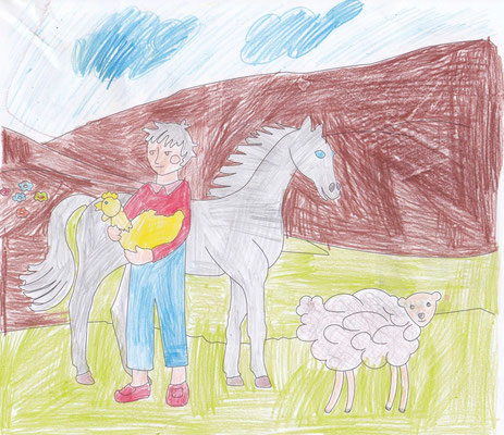 Bardia 9 years old from Tehran