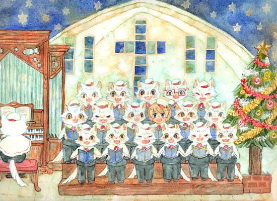 ēcole de ange  の聖歌隊
