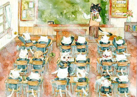 ēcole de ange  の午後の授業