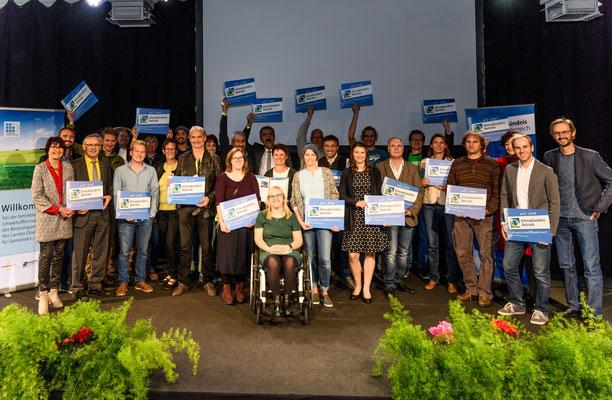 Klimabündnisbetriebe Auszeichnungsveranstaltung Wearfair 2017 Rechte: Wolfgang Simlinger