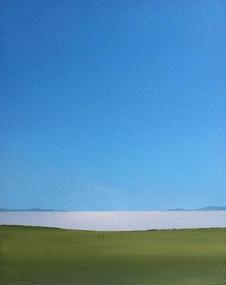 Küste, Acryl auf Leinwand auf Karton, 50x40cm