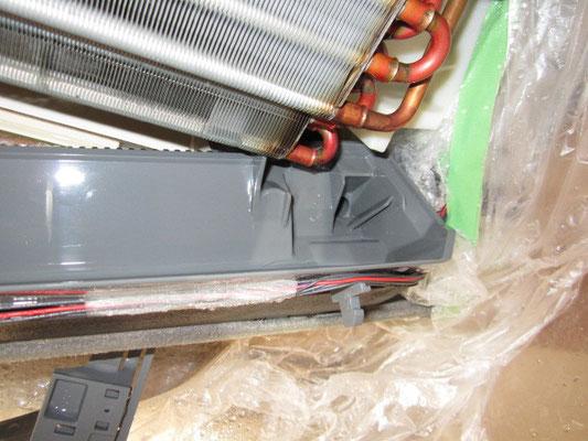 エアコン ドレン板の洗浄