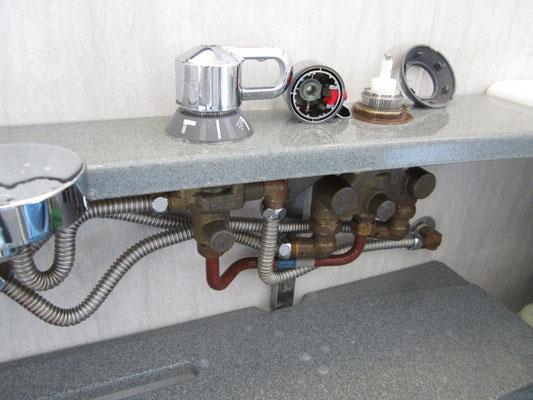 カラン(水栓蛇口)周辺洗浄 バスルームクリーニング