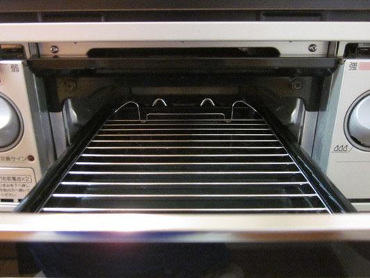 キッチンクリーニング(魚焼き器)