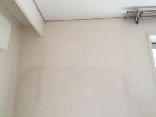 壁紙クロスクリーニング(洗浄中)