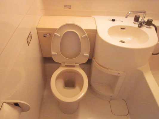 トイレのお掃除