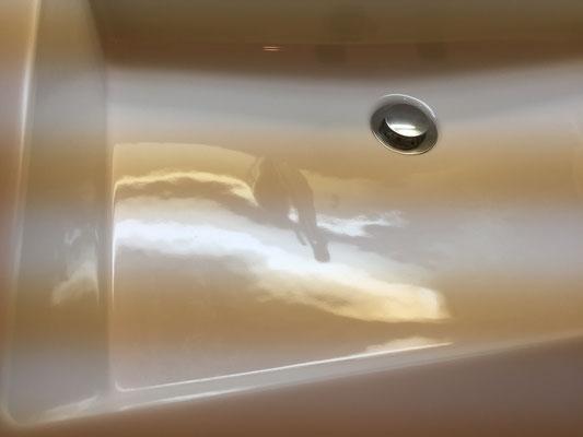 洗面台クリーニング 洗浄後