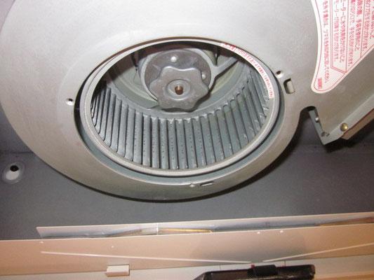 レンジフード換気扇のお掃除
