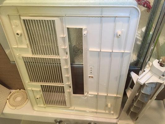 乾燥機付き換気扇クリーニング 洗浄後