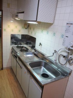 キッチンクリーニング(ガスコンロ:据置きタイプ)