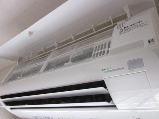 エアコンのお掃除