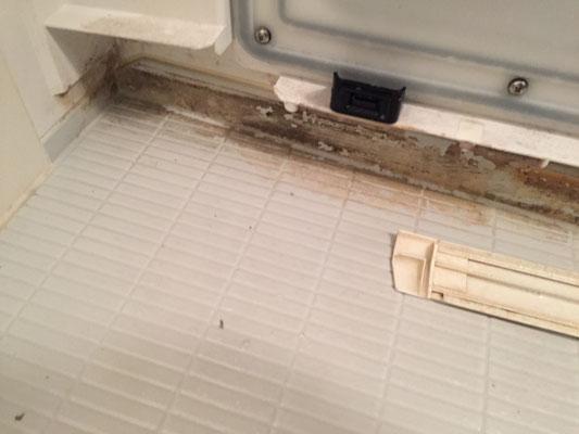 バスルームクリーニング 洗浄前