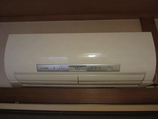 エアコン お掃除機能付きの洗浄