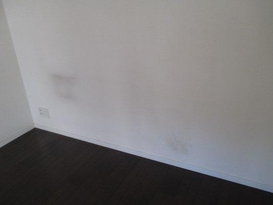 壁紙のクロズミ汚れ