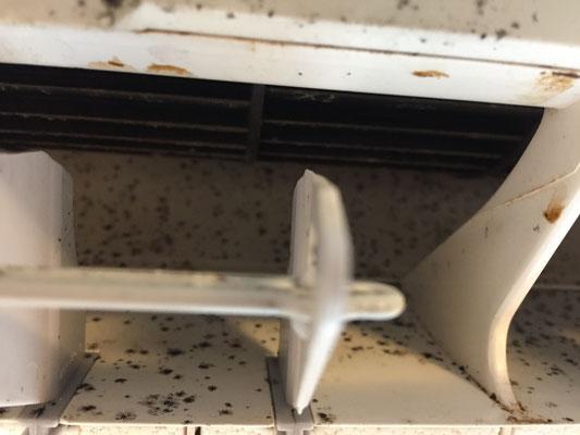 エアコンクリーニング 洗浄前