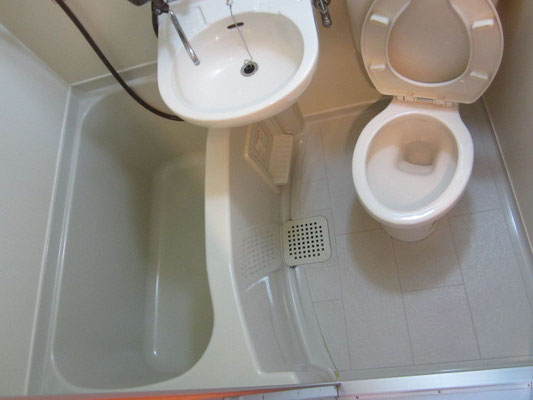 バスルーム(浴室)クリーニング(3点ユニットタイプ)