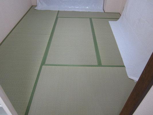 和の和み畳の清掃