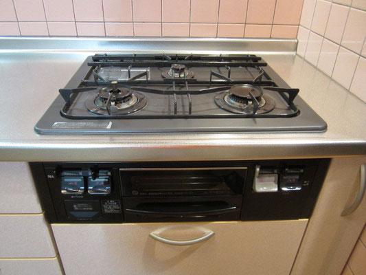 キッチンクリーニング(ガスコンロ:ビルトインタイプ)