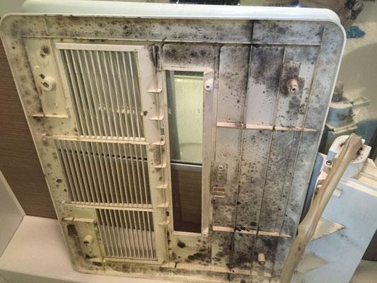 乾燥機付き換気扇クリーニング 洗浄前