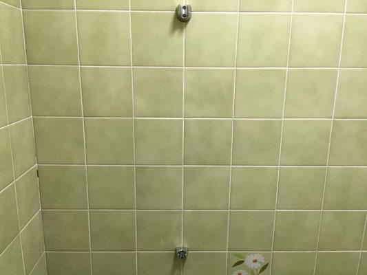 浴室タイル除菌洗浄 洗浄後
