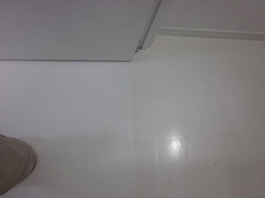 フローリングの洗浄やワックス(エコ洗剤洗浄)
