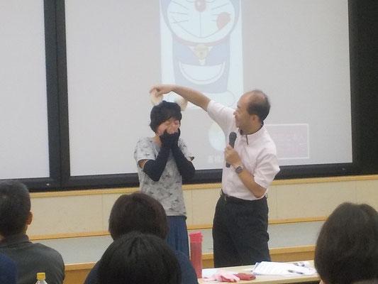 猫耳の実際下川先生