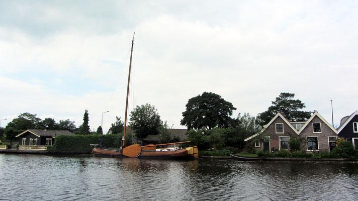holländisches Plattbodenboot
