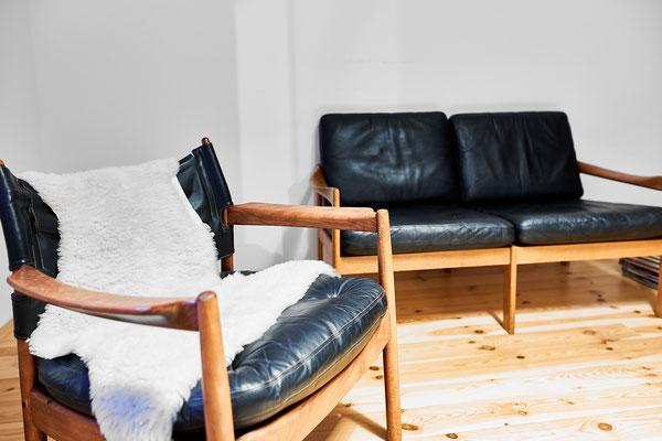 Sessel und Sofa in skandinavischem Design - Utes Platz zum Lesen.