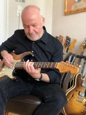 Alex große Leidenschaft ist die Musik - nunmehr seit fast 50 Jahren.