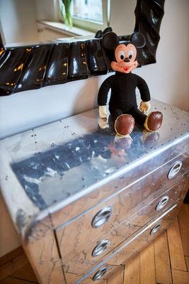 Diese Mickey Mouse wurde in den 50er Jahren geboren.