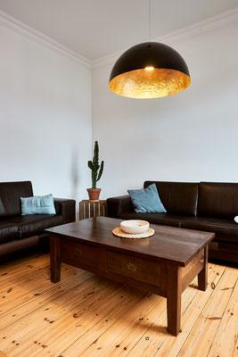 Die Lampe war ein Spontankauf bei einem Ausflug nach Den Haag
