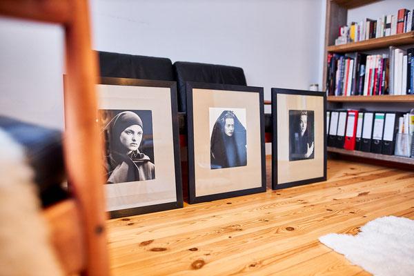 Ute liebt die Fotografie von Peter Lindberg.