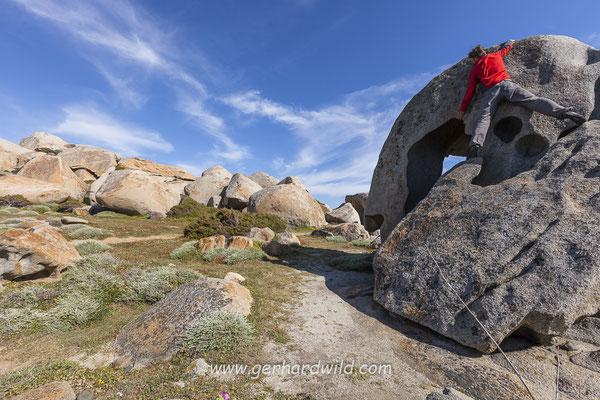 Bouldern in Capineru - Korsika