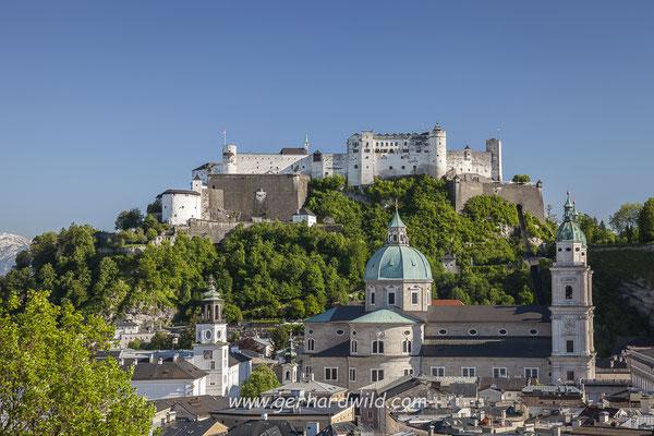 Salzburger Altstadt und Festung Hohensalzburg
