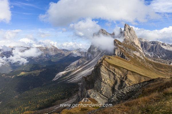 Seceda, Geislergruppe, Dolomiten