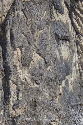 Kletterer Sellagruppe