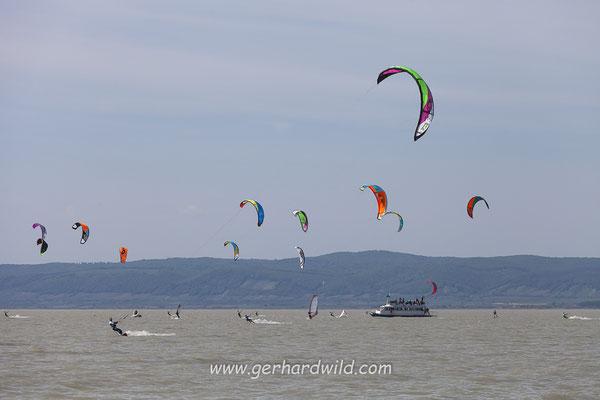 Kite-Surfer, Neusiedler See