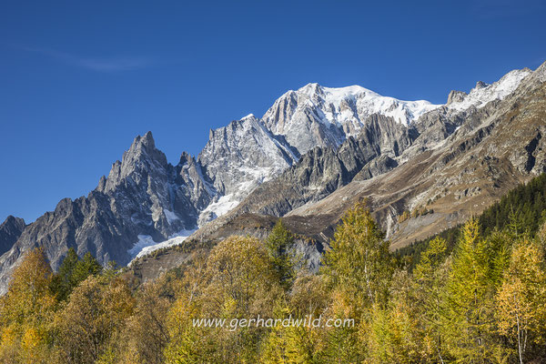Mont Blanc, Aostatal