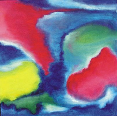 """""""Weltenreise"""" 40 x 40 cm"""