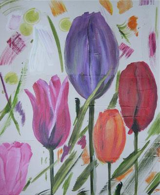 """Creation Tulpe"" 50 x 60 cm"