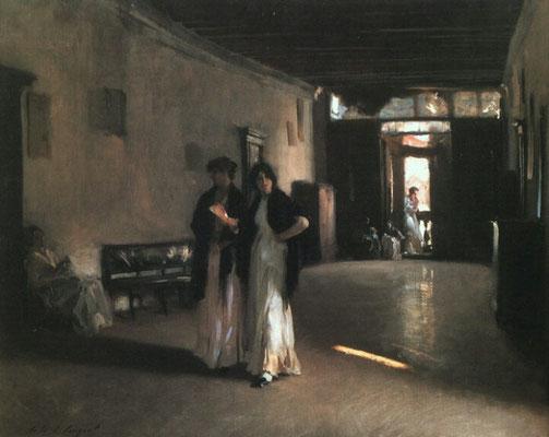 John Singer Sargent, Venetian Interior
