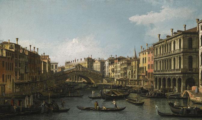 Canaletto, Ponte di Rialto