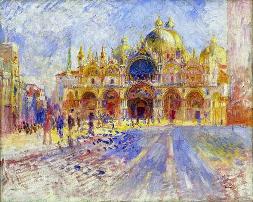 Pierre-Auguste Renoir, La place Saint-Marc
