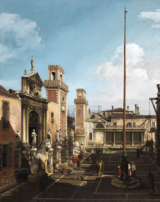Bernardo Bellotto, L'Arsenale di Venezia