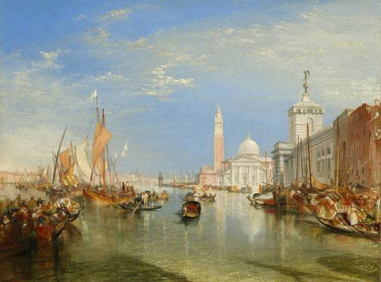 J.M.W. Turner, the Dogana and San Giorgio Maggiore (1834)