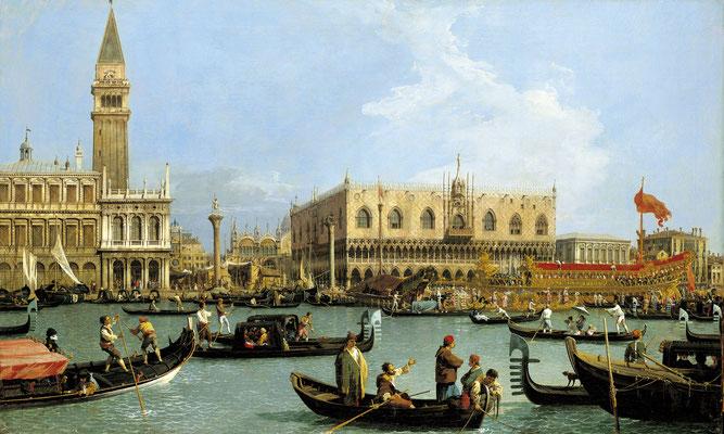 Canaletto, Bacino di San Marco nel giorno dell'Ascensione (c. 1732)