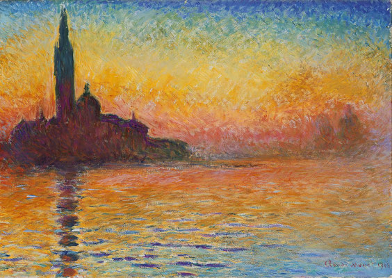 Claude Monet, San Giorgio au Crépuscule